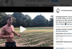 Chris Hemsworth-Men In Black-Instagram