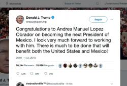 Donald Trump-Lopez Obrador-Elecciones 2018