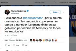 Margarita Zavala-Lopez Obrador-Elecciones 2018