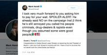 Mark Hamill-Donald Trump-AMLO