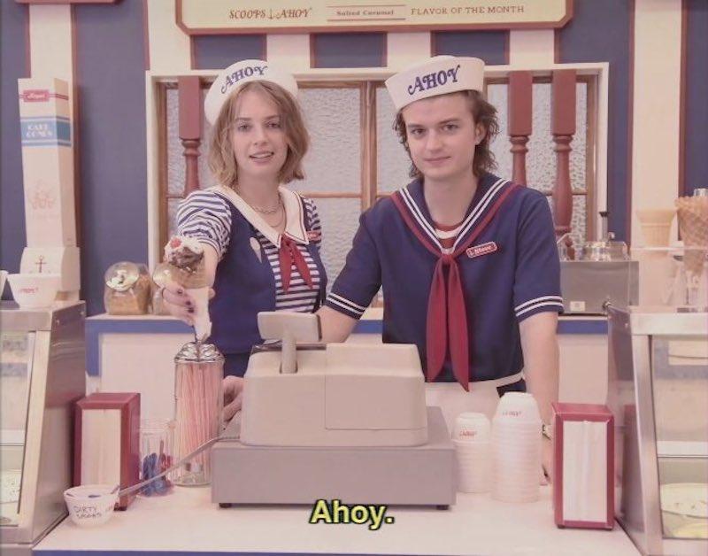 Stranger Things-Netflix-Tercera Temporada-Ahoy