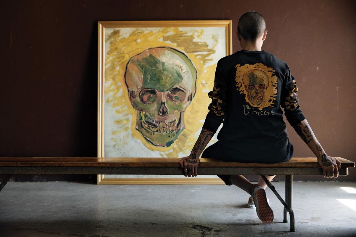 Al Llega Vincent Mano Van Vans Gogh Street Style De La 4AR35jL