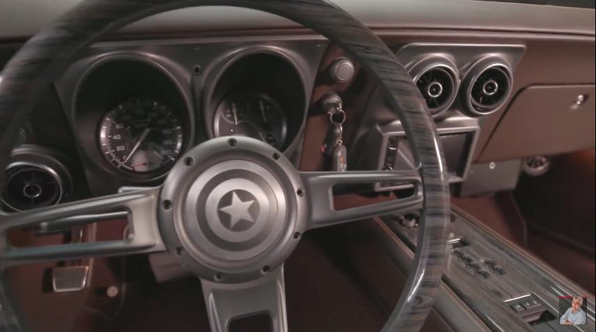 Captain America-Chris Evans-Camaro-SpeedKore-Jay Lenos Garage