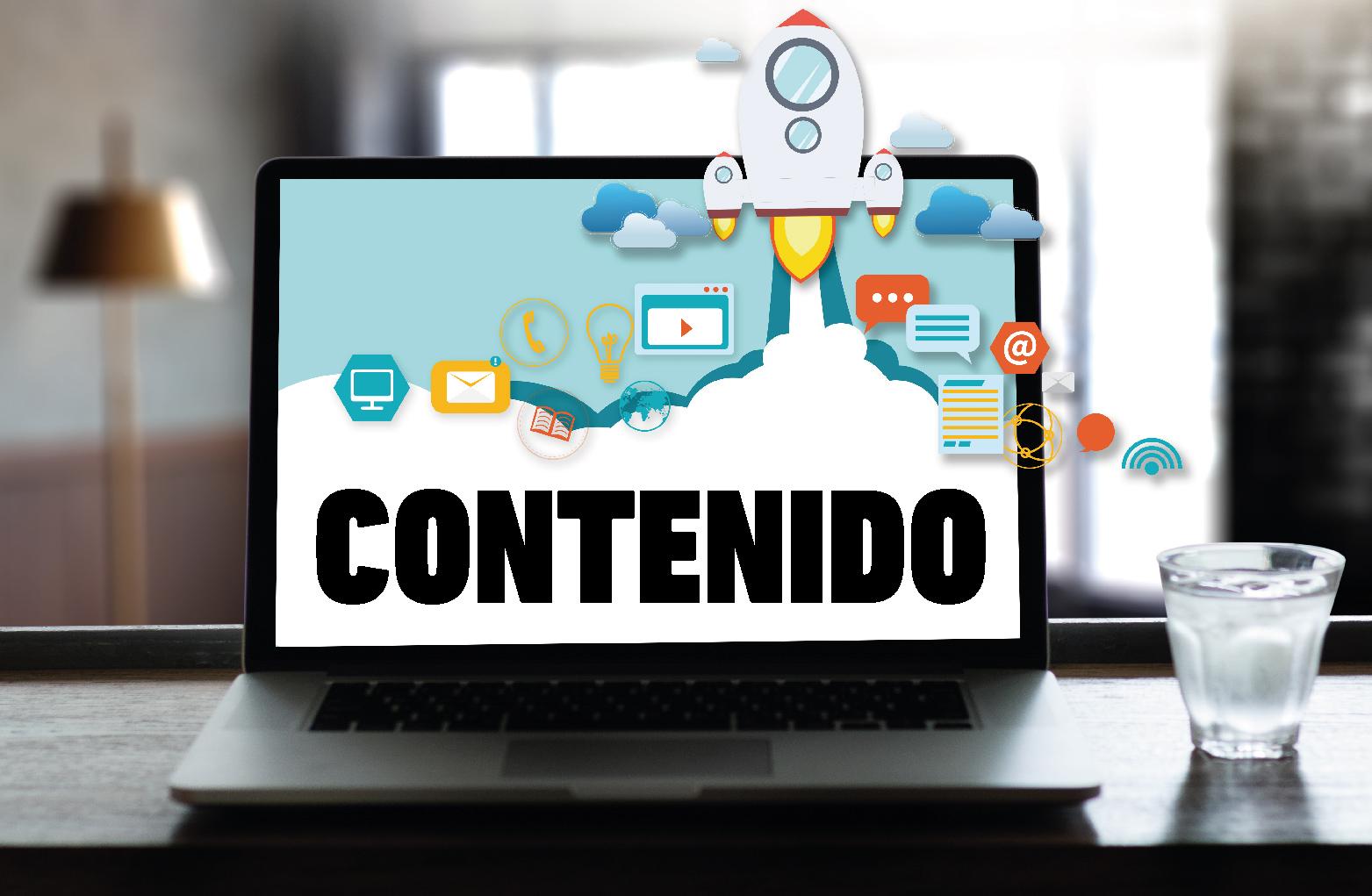 crear contenidos