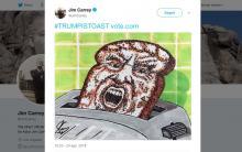 Jim Carrey-Donald Trump