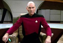 Patrick Stewart-Jean Luc Picard-Star Trek-CBS