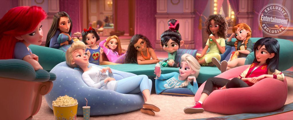 Ralph Breaks Internet-Disney-Princesses-EW