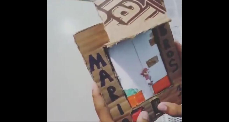 Niño venezolano crea su propio