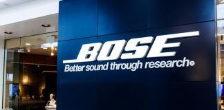 tienda física Bose