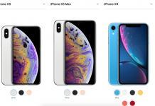 iPhone Xs-Xs Max-Xr-Apple