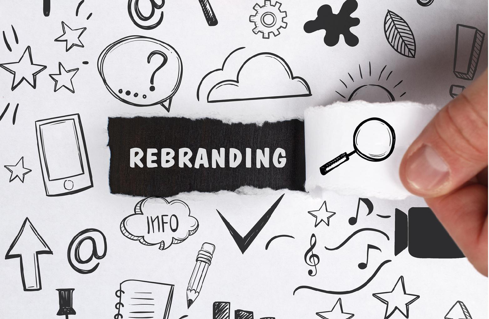 4 consideraciones que debes tener al diseñar un rebranding