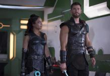 Thor Ragnarok-Marvel-Tessa Thompson-Chris Hemsworth