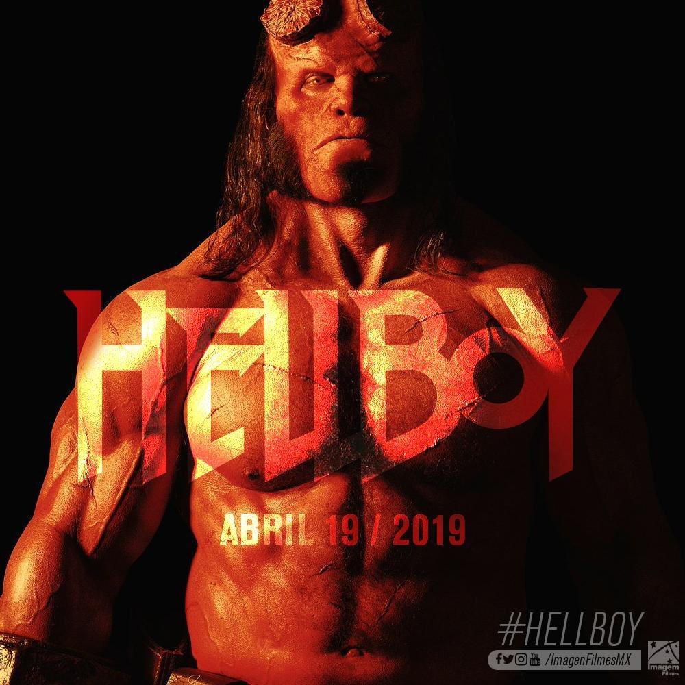 Hellboy Presenta Nuevo Póster Y Fecha De Estreno Para México