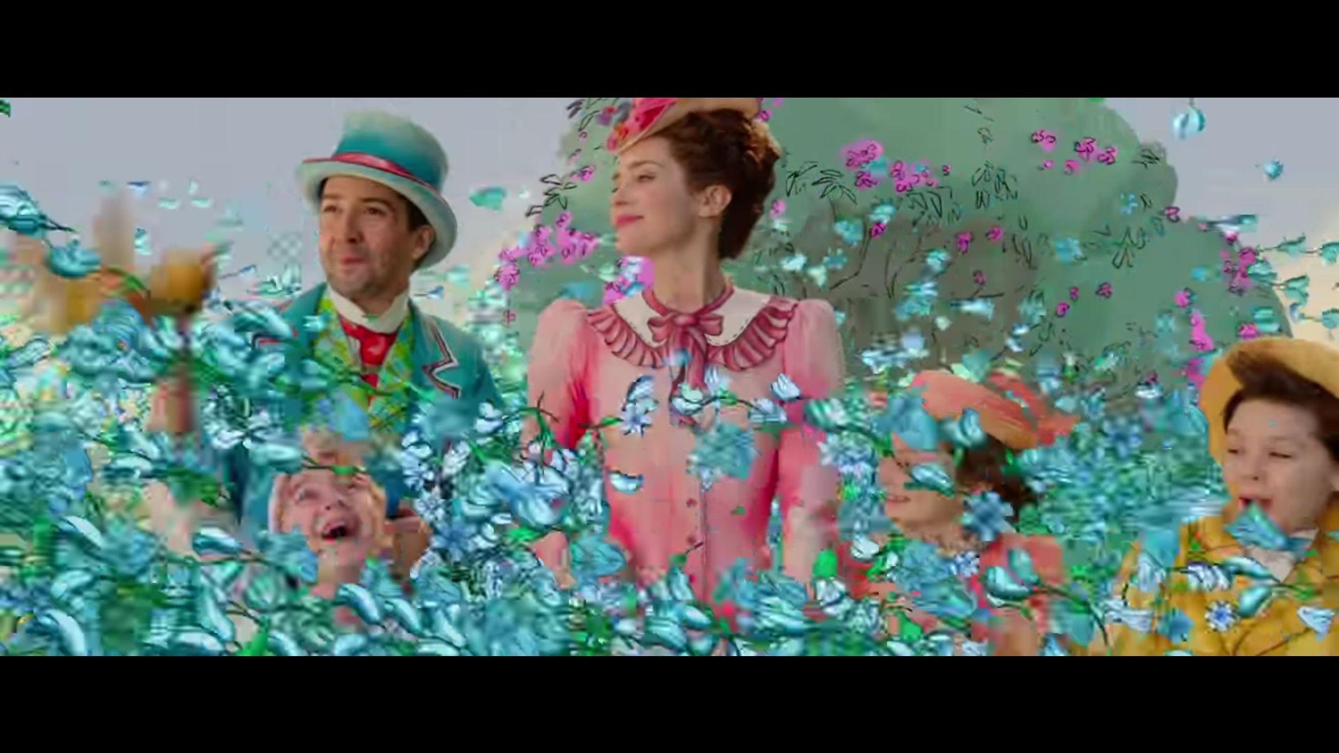 Estrenan nuevas imágenes del regreso de Mary Poppins
