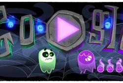 Lecciones de experiencia Doodle de Google Halloween 2018