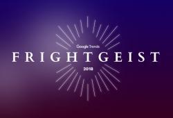 Tendencias de Halloween Google frightgeist