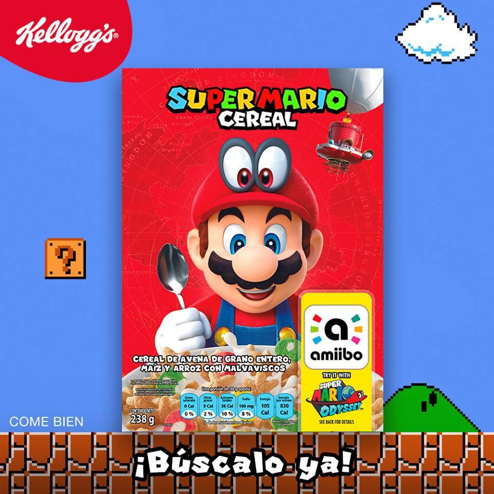 El Super Mario Cereal ya está disponible en México