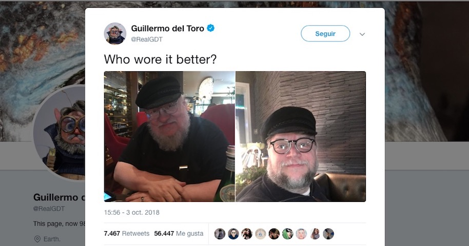 Guillermo del Toro-George R. R. Martin-Game of Thrones