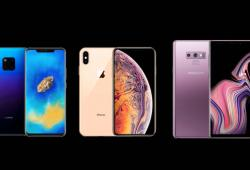Infografia-Smartphone-Mate20-iPhone Xs Max-Galaxy Note 9-short