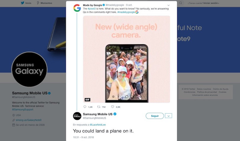 Samsung-Google-Pixel 3XL