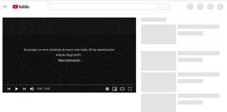 YouTube-falla-Error 503
