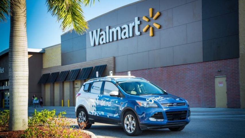 Ford-Walmart-Delivery services