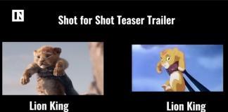 The Lion King Teaser-El Rey León-Disney