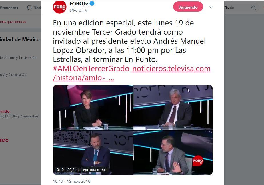 #AMLOEnTercerGrado