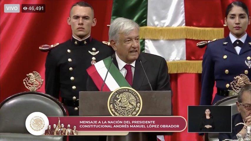 AMLO-López Obrador-Discurso