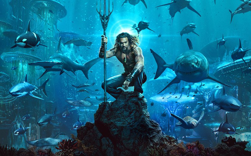 Aquaman: Acciones de marketing que acompañaron a esta película