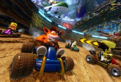 Crash Bandicoot-Crash Team Racing Nitro-videojuegos