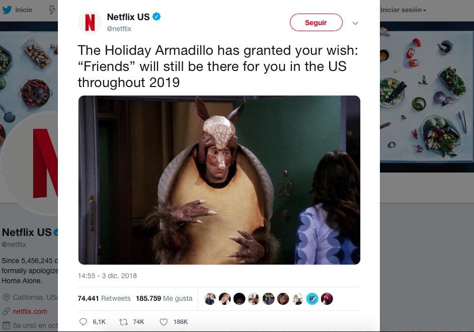 Friends-Netflix