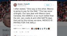 Trump-México-AMLO-Muro