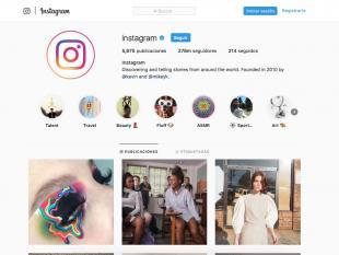 Instagram-perfil oficial