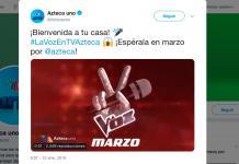 La Voz-México-TV Azteca