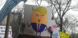 Womens March-Mujeres vs Donald Trum