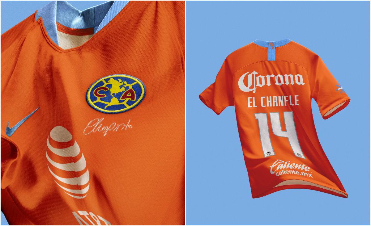 52ecb7bd9 Club América lanza tercer uniforme para celebrar 40 aniversario de ...