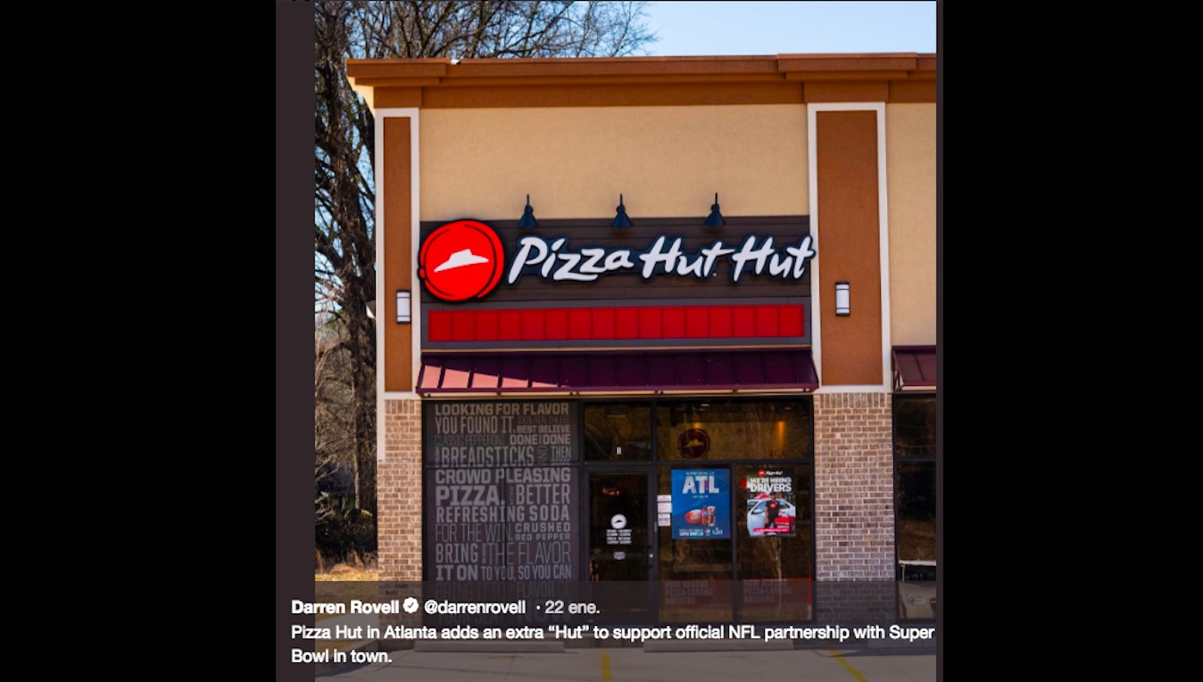 pizza hut hut