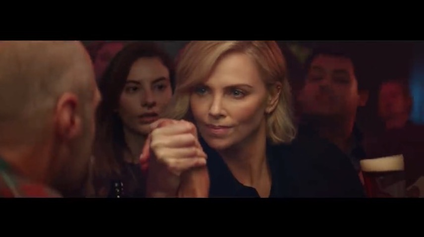 Budweiser Reserve Copper Lager-Charlize Theron-Oscars 2019