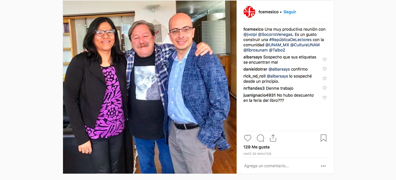 community-manager-fondo-de-cultura-economica-instagram