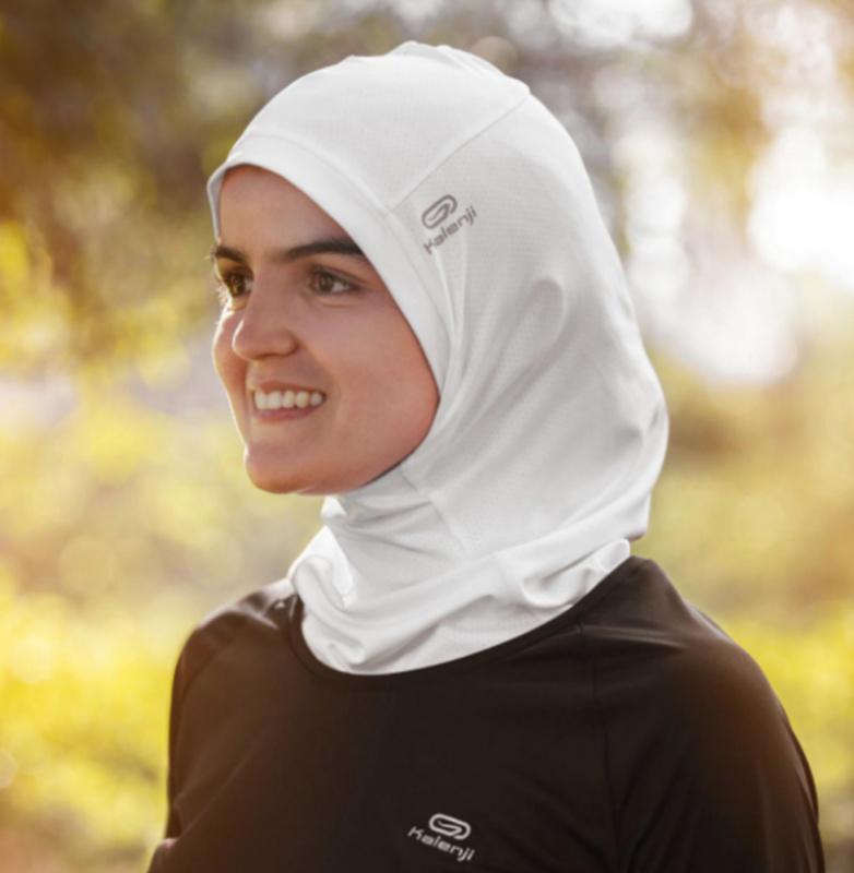 hijab de Decathlon