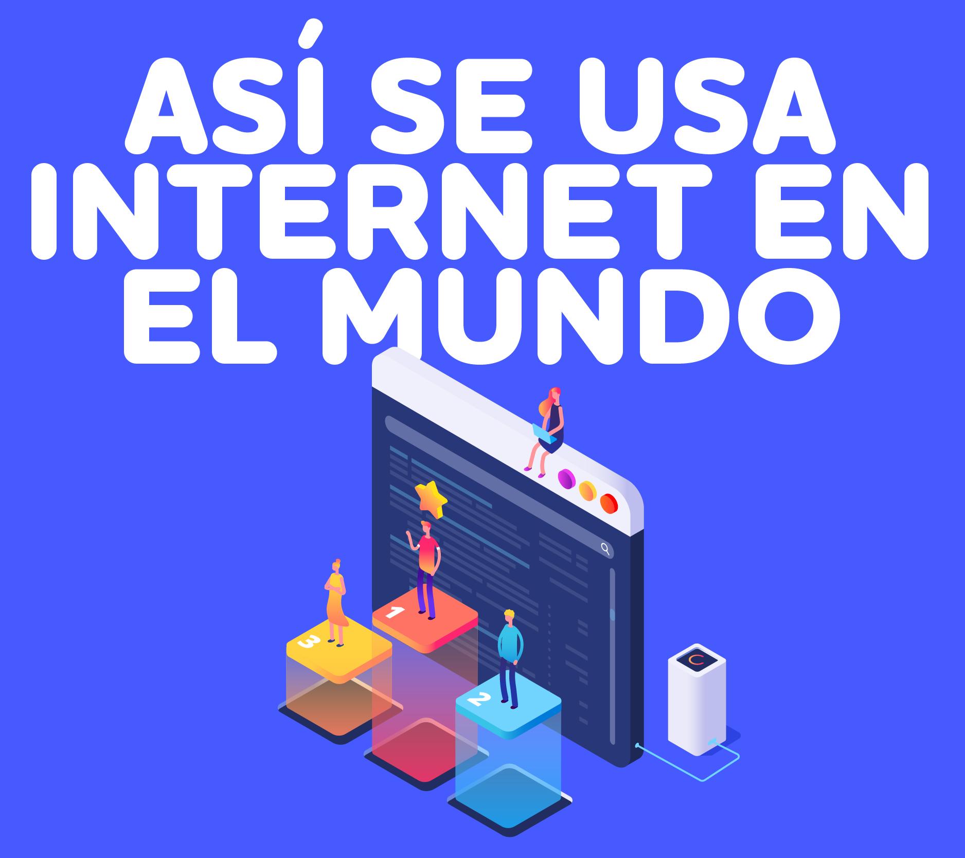 As Se Usa Internet En El Mundo-1000