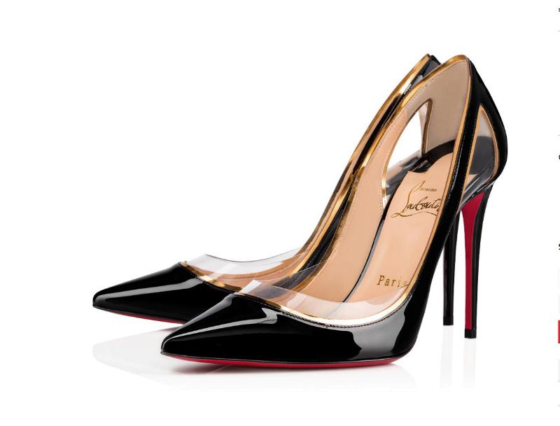 zapatos negros Louboutin