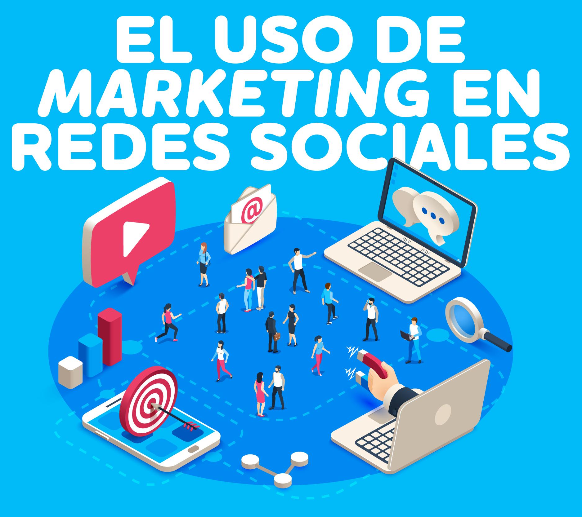 El uso de marketing en redes sociales