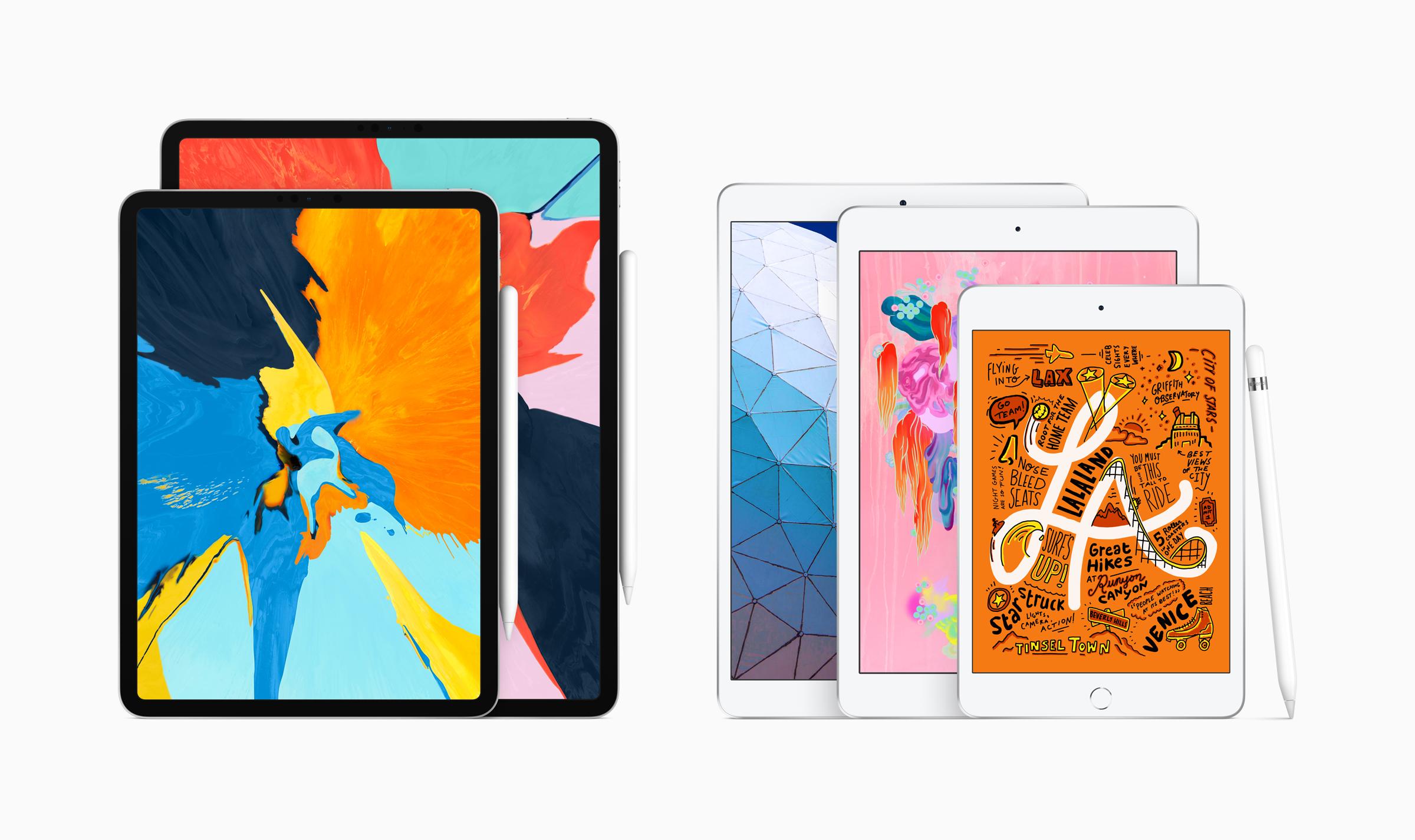 Apple-iPad Air-iPad mini-01