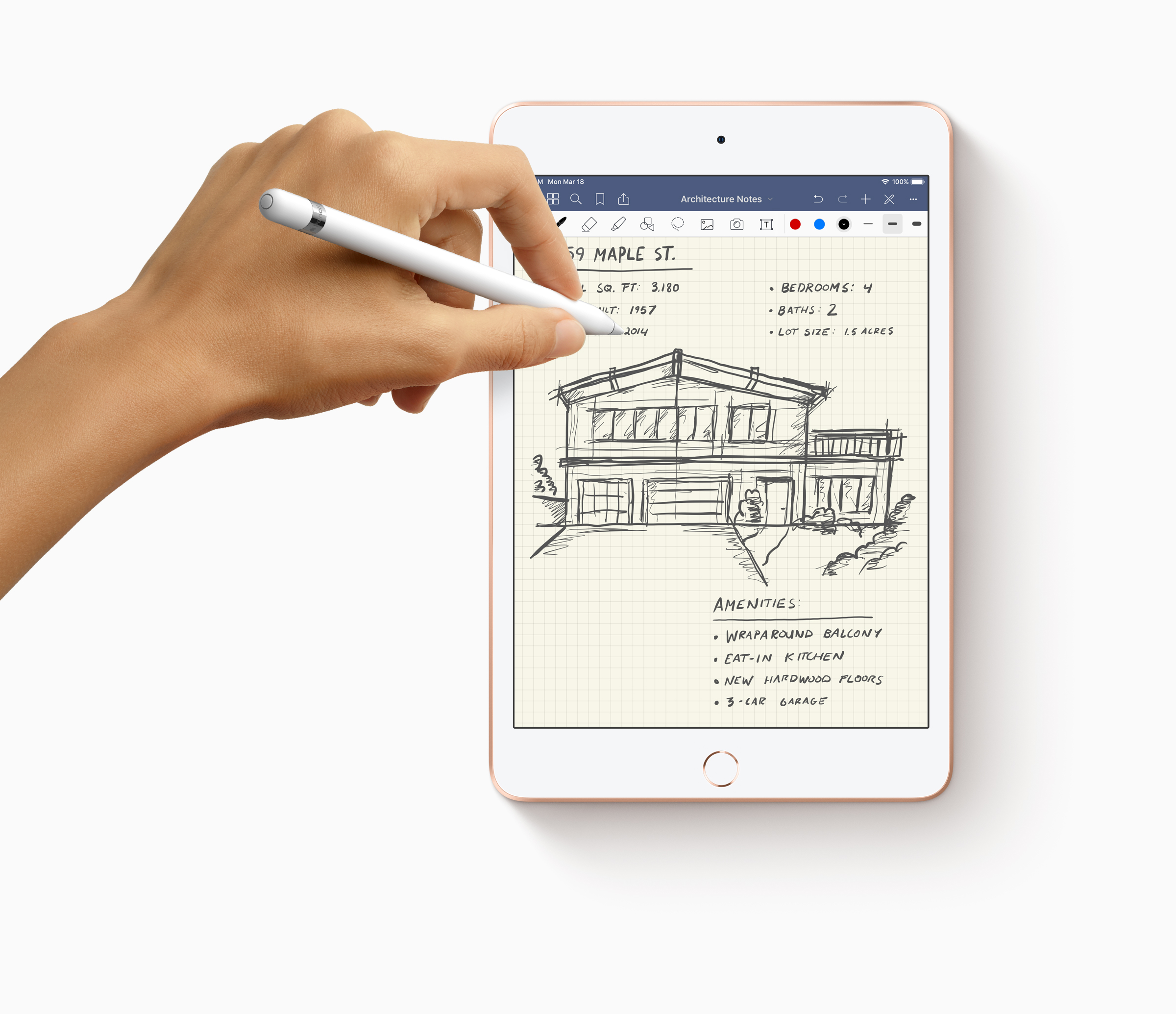 Apple-iPad Mini-Pencil