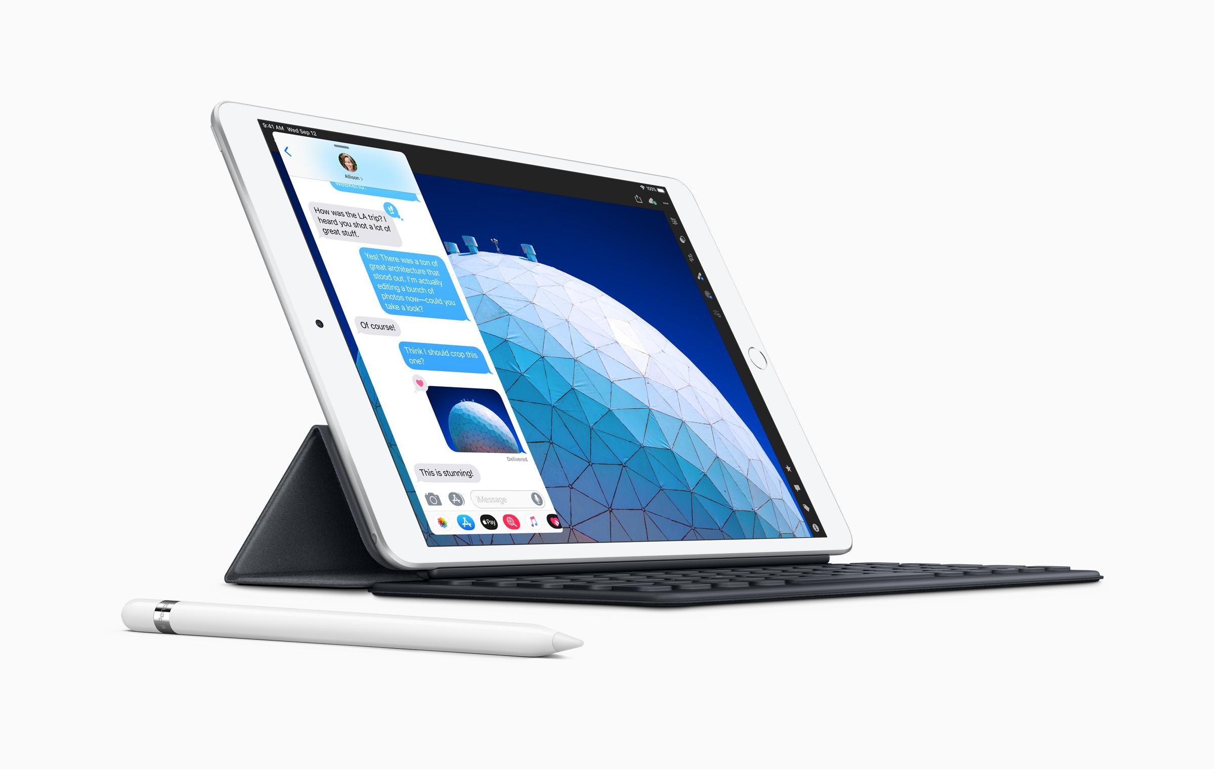 AppleiPad Air-smart keyboard