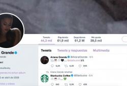 Ariana Grande-Starbucks-Tweet