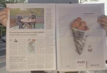 Campaña destacada: Aladi demuestra que los medios impresos todavía son efectivos para la publicidad con Fresh Prints.