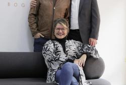 María Marchant, Pablo Batlle y Miguel Mendoza